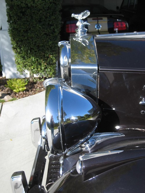 1951 Rolls Royce Silver Wraith WOF1 front grill from drivers side