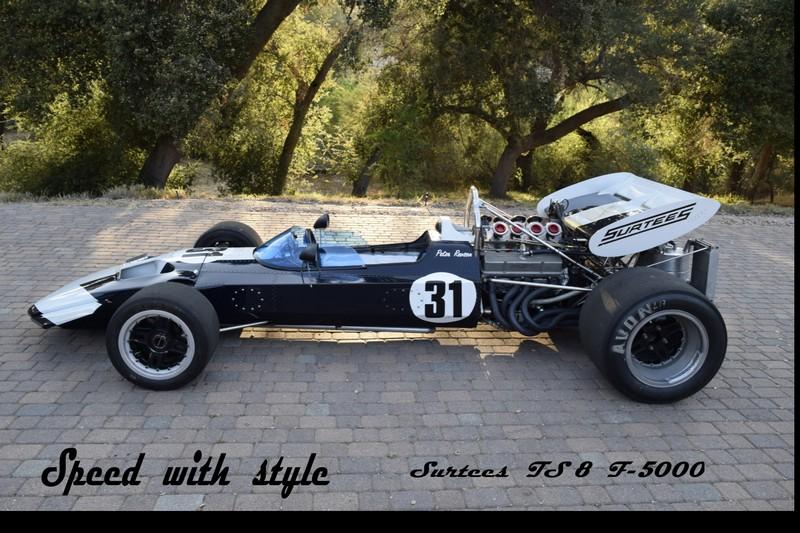 1970 Surtees TS8 #7  Formula 5000 V8