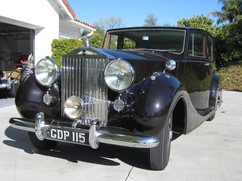 Rolls Royce Silver Wraith